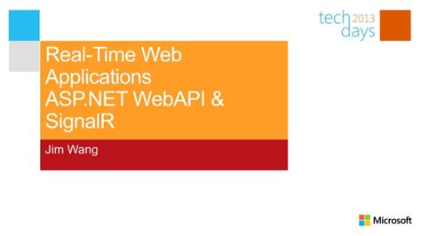 real time web application development with asp net signalr docker and azure books real time web applications with asp net webapi and signalr