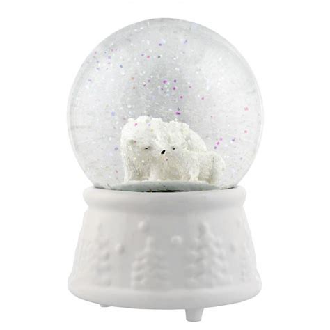 Polar Bear Snow Globe   Tutti Decor Ltd