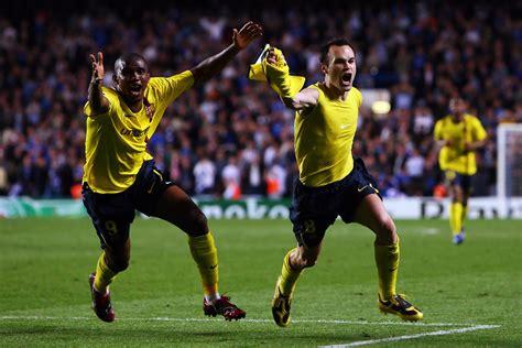 chelsea vs barcelona 2009 andres iniesta in chelsea v barcelona uefa chions