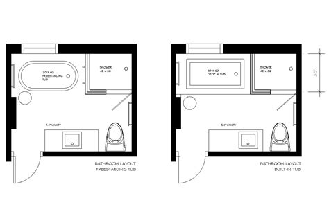 small 3 4 bathroom floor plans variants of bathroom layout the best design for your