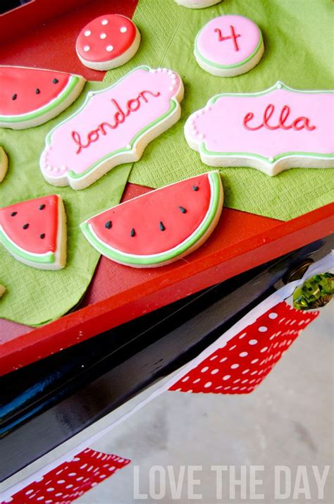 Watermelon Decorations by 1000 Ideas About Watermelon Decorations On