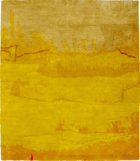 large yellow rug yellow mist signature rug from the christopher fareed designer rugs collection at modern area rugs