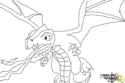clash of clans dragon coloring page how to draw clash of clans dragon drawingnow