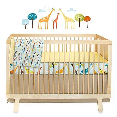 Giraffe Nursery Bedding Set Buy Skip Hop 174 Giraffe Safari 4 Crib Bedding Set From Bed Bath Beyond