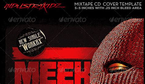 52 Cd Dvd Cover Psd Templates Weelii Mixtape Cover Template Psd