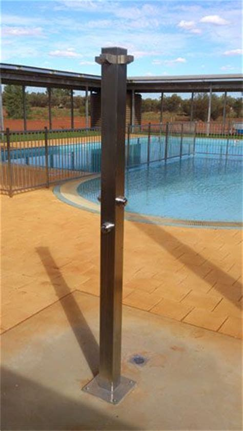 rainware outdoor showers rainware commercial outdoor shower at pool in ayers