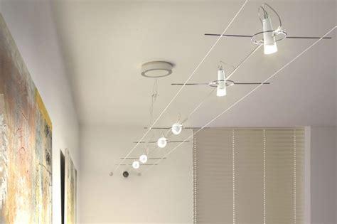 Eclairage Suspendu Cable by Seilsystem Design In Led Und Halogen Paulmann Licht Gmbh