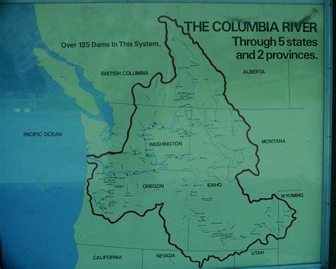 columbia river map columbia river map earth a work in progress