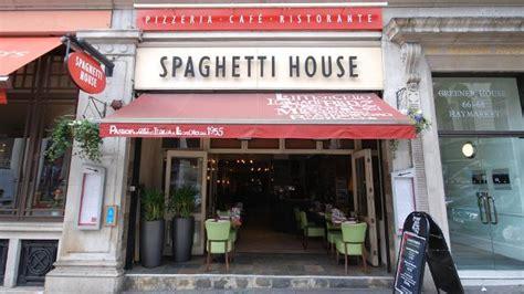 spaghetti house spaghetti house haymarket italian restaurant visitlondon com