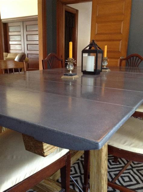 [fan made] This concrete dining room table was produced