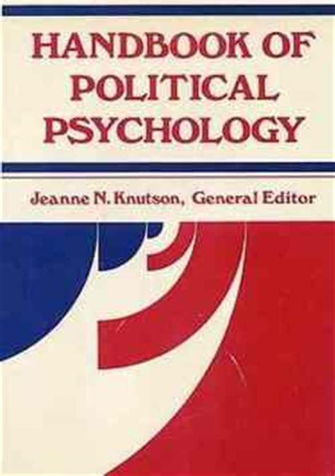 the handbook of eea law home politics sociology handbook of political psychology pdf download