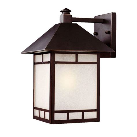 Architectural Outdoor Lighting Fixtures Acclaim Lighting Tidewater Collection Wall Mount 1 Light Outdoor Architectural Bronze Fixture