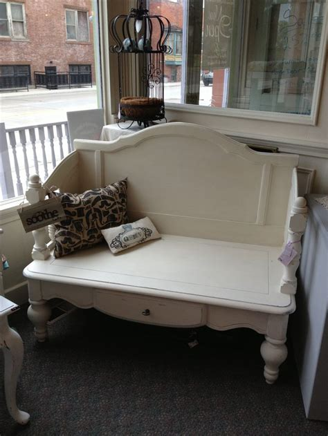 bench made from bed 25 best ideas about headboard benches on pinterest