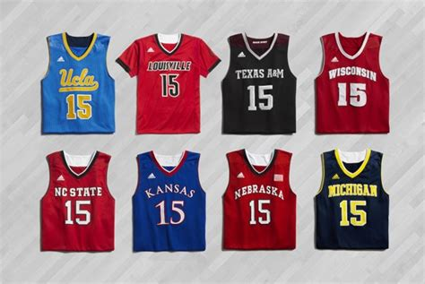 jersey design basketball 2015 elite adidas basketball quot made in march quot collection for ncaa