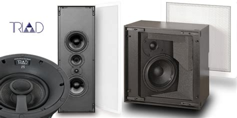 triad audiophile custom installation speakers vision
