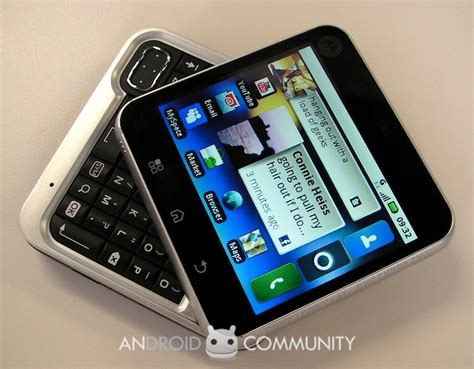 on with motorola flipout android community