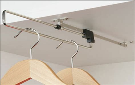 Pull Out Wardrobe Rails by Pull Out Wardrobe Rail 460 Mm Pull Out Wardrobe Rails