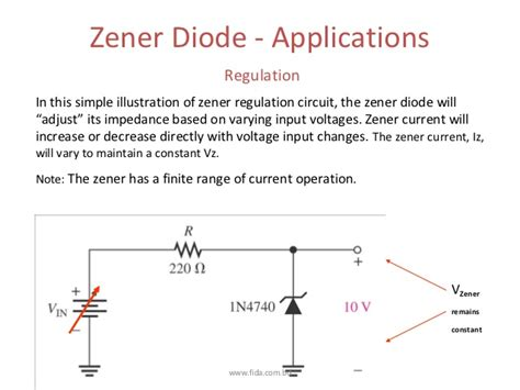 zener diode introduction eee201 lecture 6 www fida bd