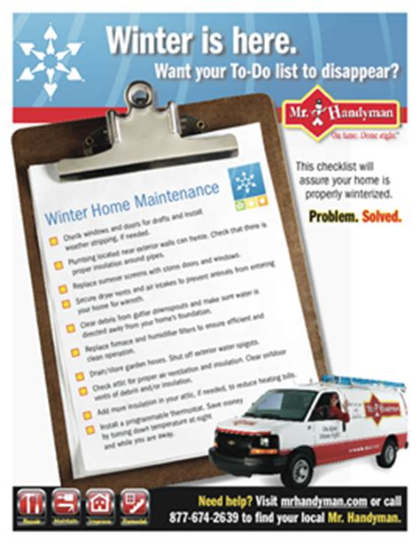 home maintenance tips for winter images home maintenance checklist printable maintenance schedules
