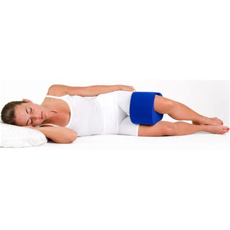 Pillow For Hip by Stay Put Knee Pillow Wrap Around Therapeutic Sleep Support