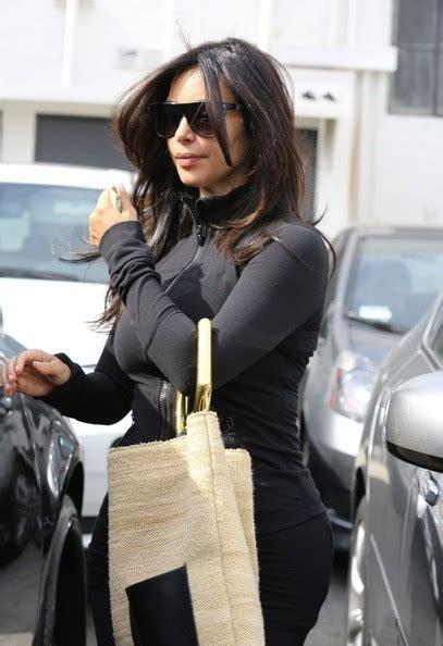 kim bellamy hair stylist kim kardashian visits the hair salon zimbio
