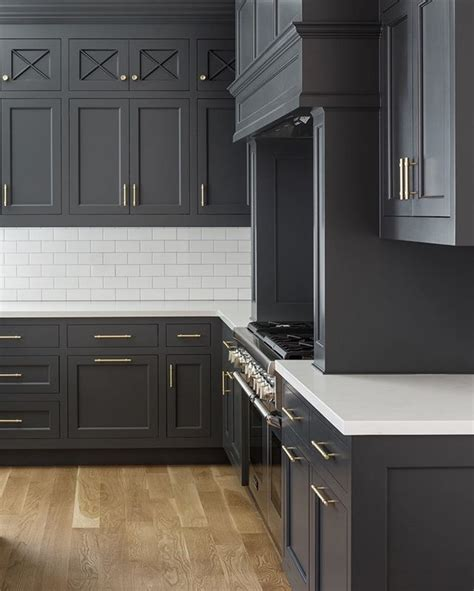best gray for kitchen cabinets charcoal grey kitchen cabinets best 25 dark gray