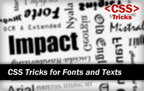 new design font css css tricks for headings fonts and text styling