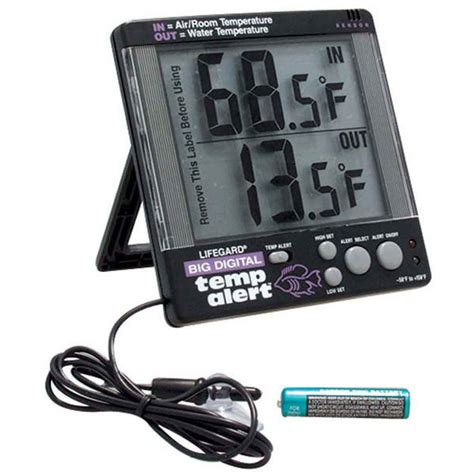 Termometer Digital Untuk Aquarium digital temperature alert thermometer that fish place