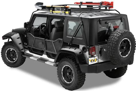 Jeep Rack by Warrior Products 879 Warrior Products Safari Sport Rack