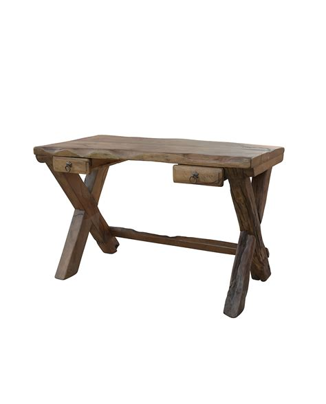 Mesquite Desk by Purchase Exclusively Designed Harbow Live Edge Rustic Desk