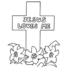 jesus died on cross coloring page jesus loves me free coloring pages on art coloring pages