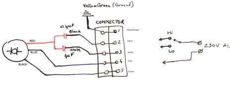 Electric Motor Capacitor Wiring Diagram Wiring Diagram