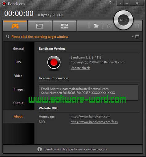 cara download bandicam full version bandicam 3 2 3 1113 full version download software full