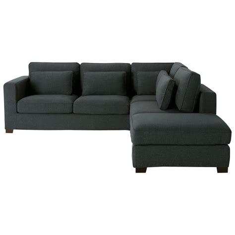 divani ad angolo in tessuto divano ad angolo color antracite in tessuto 5 posti