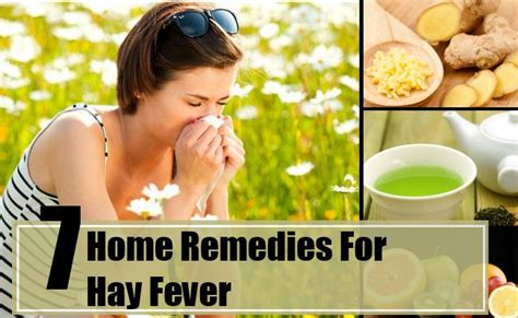 home remedies for hay fever treatments cure