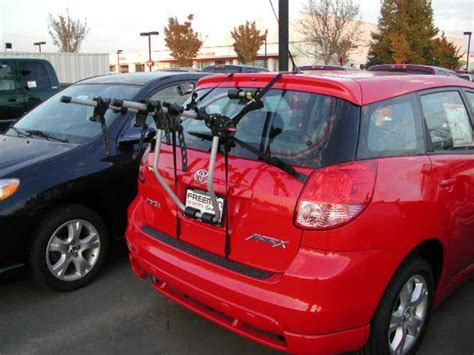 bike rack for toyota matrix 2003