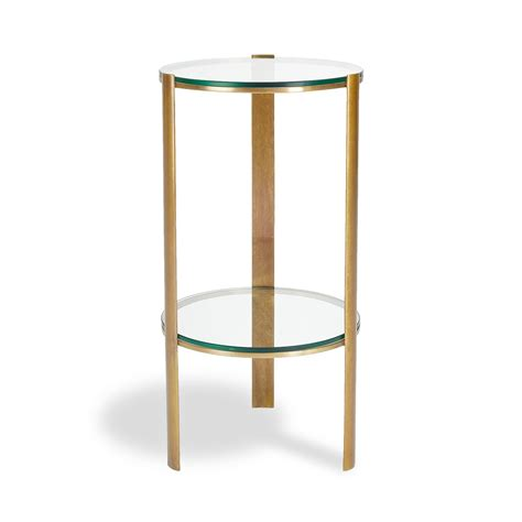 glass bedroom side tables brusali nightstand brown round bedside table antique how