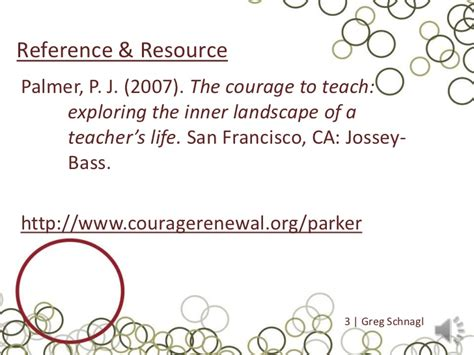 the courage to teach exploring the inner landscape of a s 20th anniversary edition the courage to teach review
