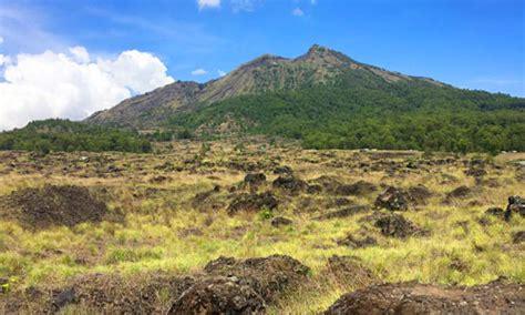 Batu Lava Bali lava tumuli gunung batur tujuan wisata baru di kintamani