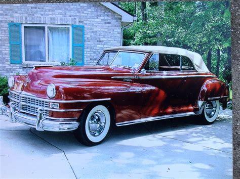 1948 Chrysler New Yorker by 1948 Chrysler New Yorker Convertible Highlander Trim