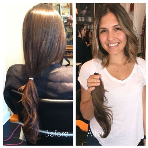 shoulder length haircuts before and after 49 best images about medium length hair on pinterest