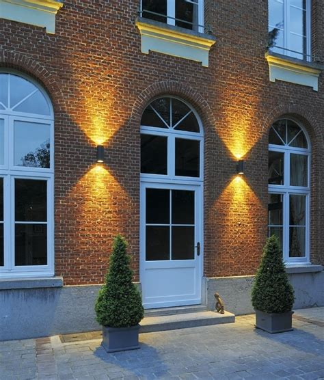 up outdoor wall lights ip55 led exterior cylinder wall light up