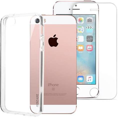 pack iphone se 5s coque silicone verre tremp 233 achat coque bumper pas cher avis et