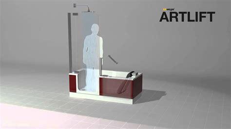 dusch badewannen artweger artlift duschbadewanne shower bath duschen
