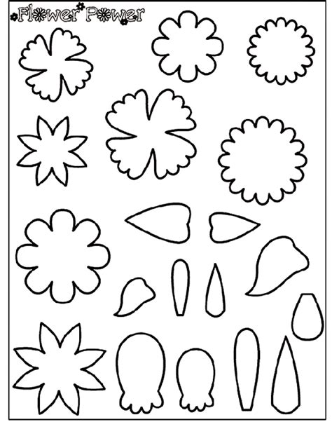 crayola coloring pages flowers flower power 2 coloring page crayola com