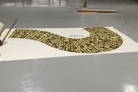 yellow brick road rug print on carpet the yellow brick road