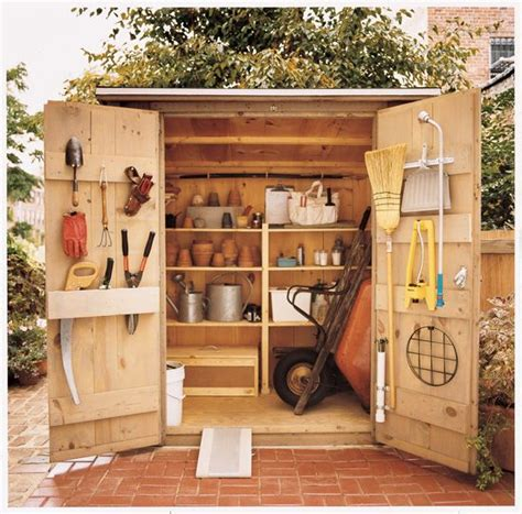 the tiny tool shed backyard escape project design milk image gallery tool shed