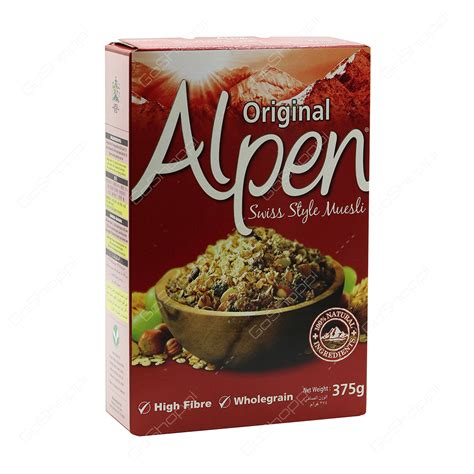 Original Swiss Muesli No Added Sugar buy grocery products from tesco supermarket