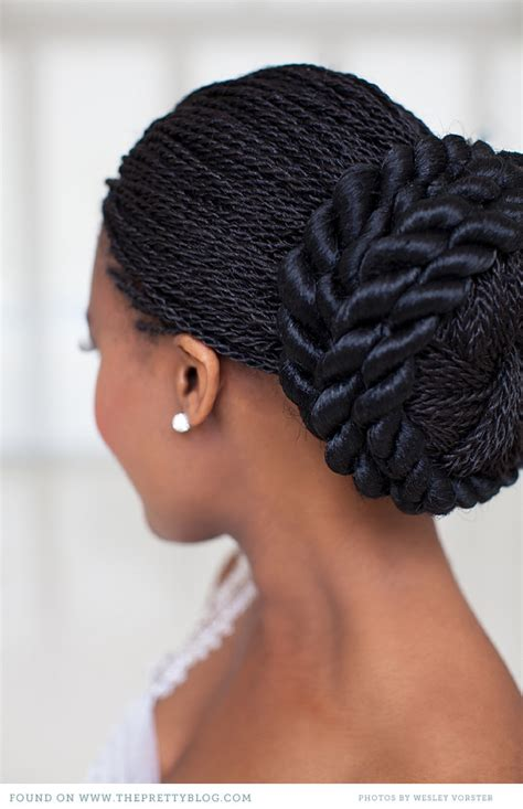 Vow Renewal Wedding Hairstyles by Botlhale Baikagile S Vow Renewal Black Braids Hair