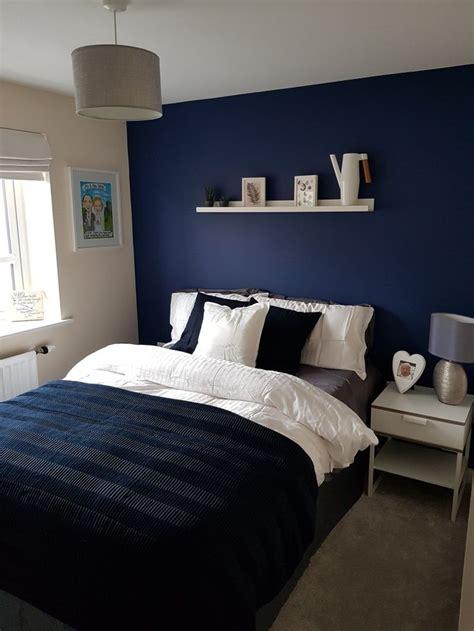 navy  white bedroom guest bedroom white bedroom
